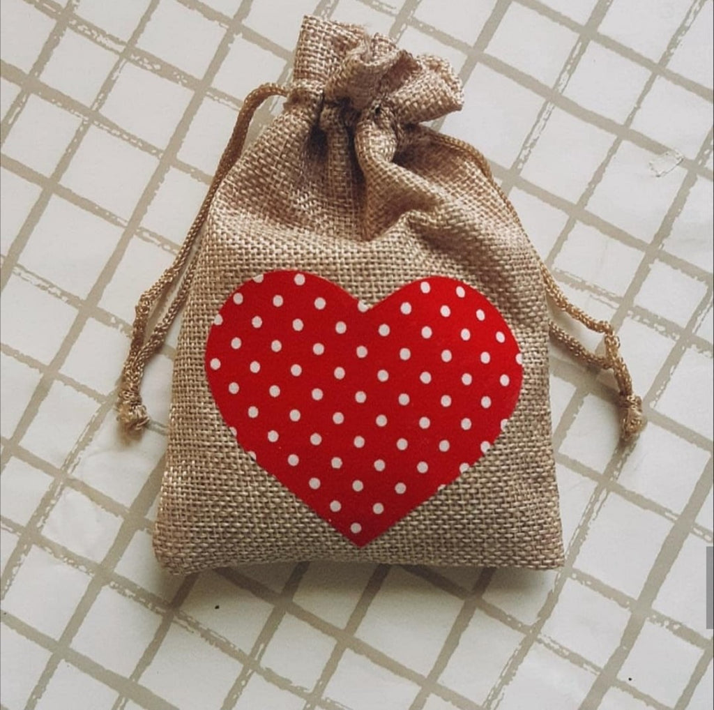 Random Hearts Lavender Bag