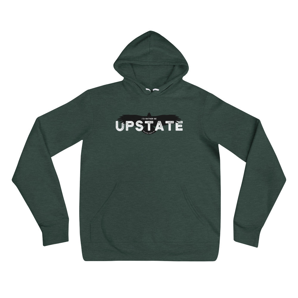 I'd Rather Be Upstate (Eagle) Hoodie