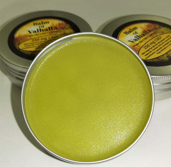 Balm of Valhalla - 250 mg CBD in a 2 Oz Tin!