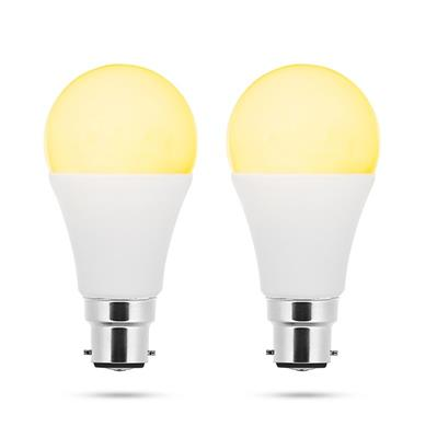 Smartwares SH8 2x LED bulb A60 B22 White + Colour