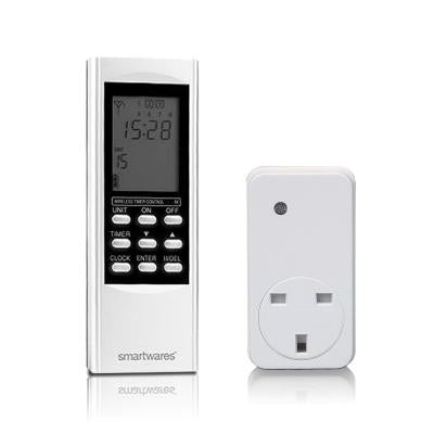 Smarthome Timer Remote Control Kit, with Single on / off socket