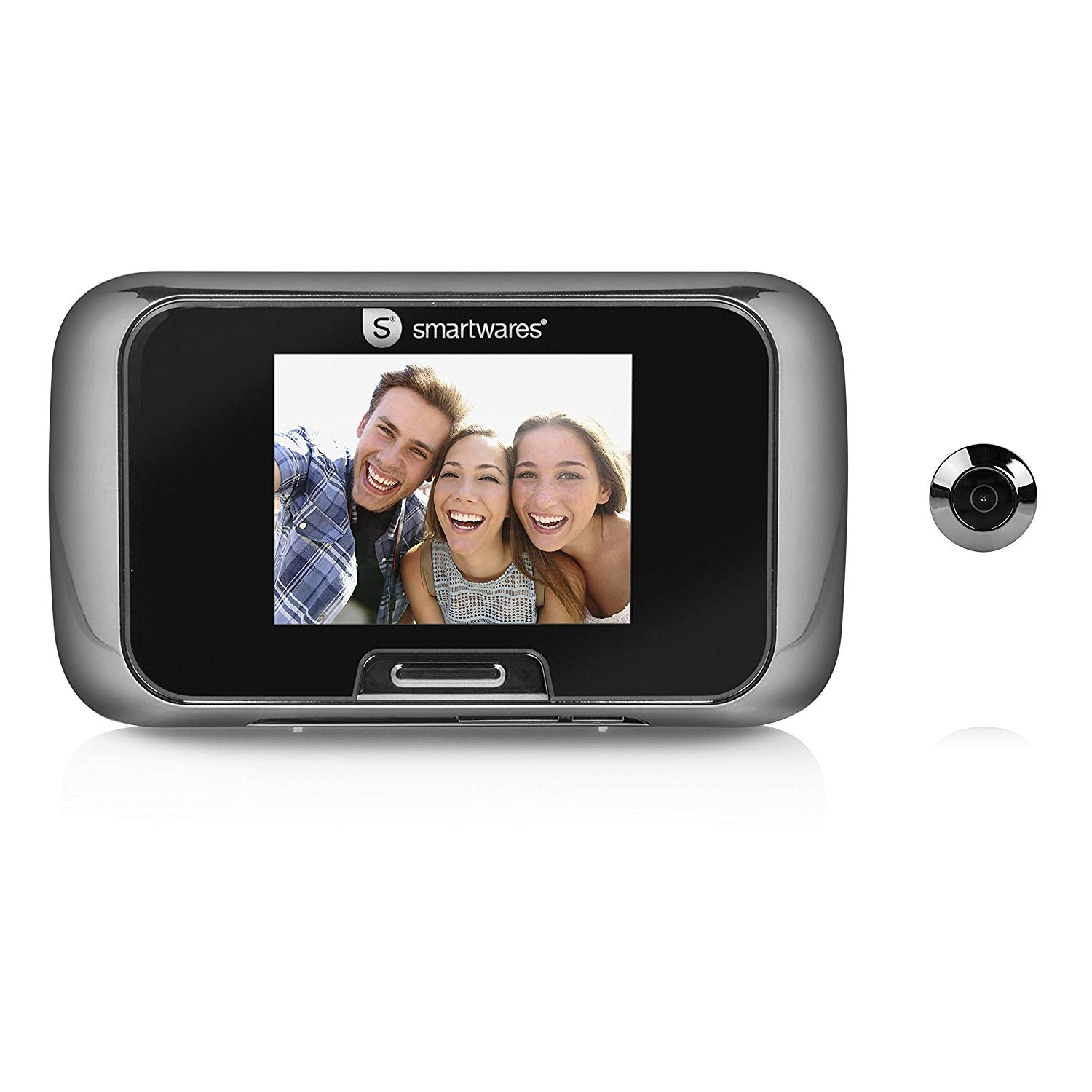 "Smartwares VD27 Door viewer – Camera – 2,8"" color LCD display – Battery powered"
