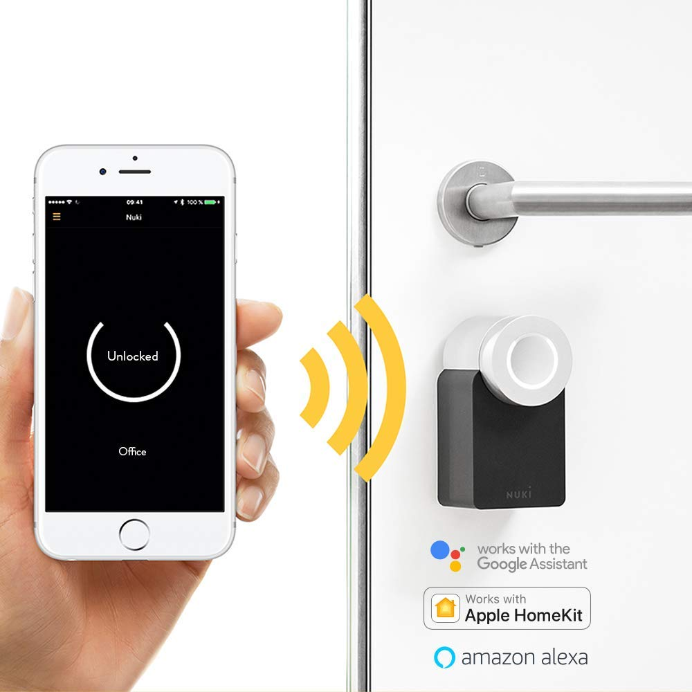 NUKI Smart Lock 2.0 with Nuki Bridge - Combo Set