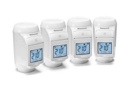 Honeywell Evohome TRV 4 Pack