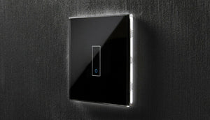 Iotty smart switch rectangle model E 1 gang - black