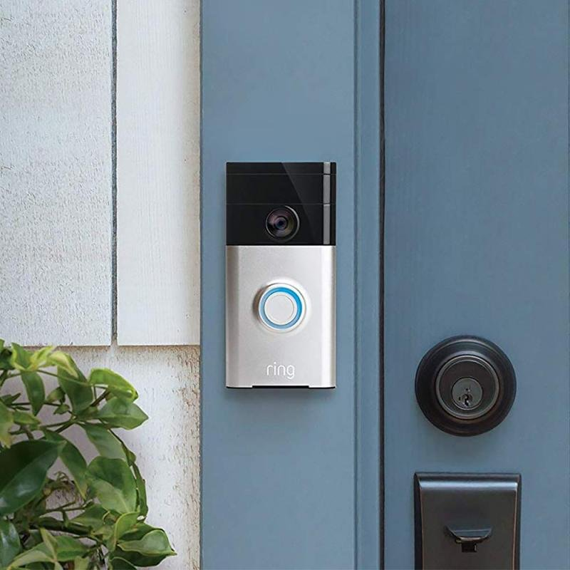 Ring Doorbell - Satin Nickel EU