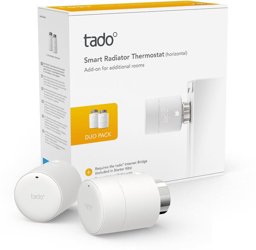 Tado - Smart Radiator Thermostat Duo Pack V3+
