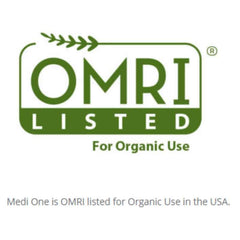 Organic OMRI Listed Seal