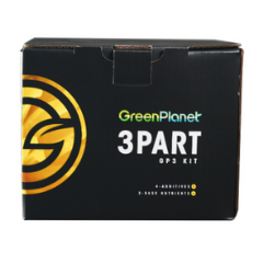 Green Planet 3 Part Nutrient Starter Kit