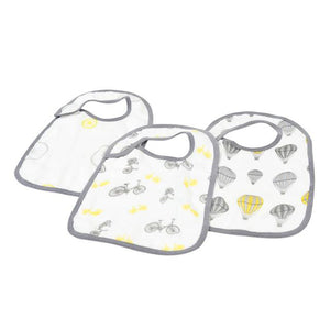 Natural Snap Bibs Set of 3 - The Cured Company