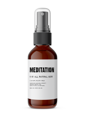Meditation - All Natural Body Mist - The Cured Company