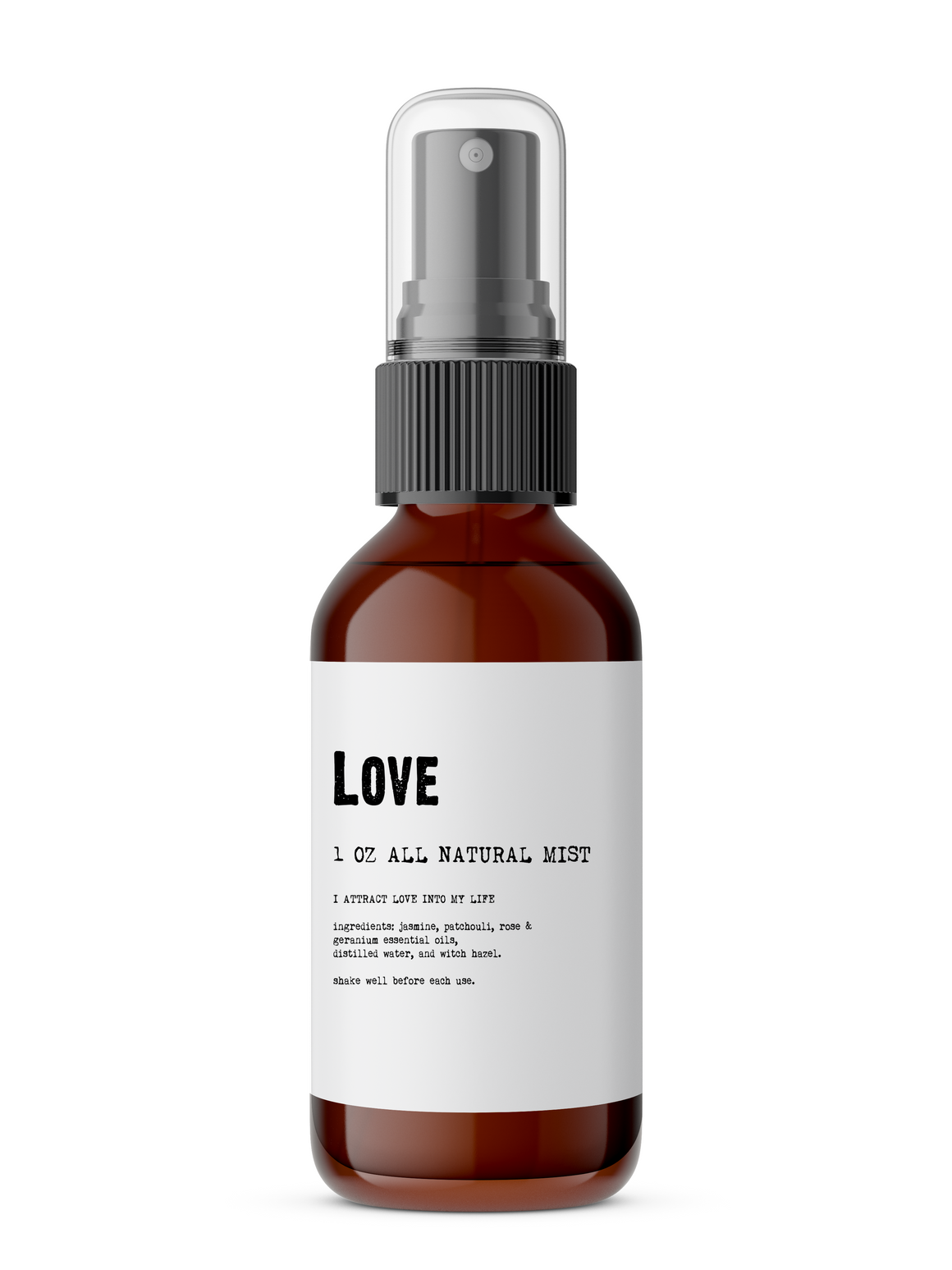 Love - All Natural Body Mist - the-cured-company
