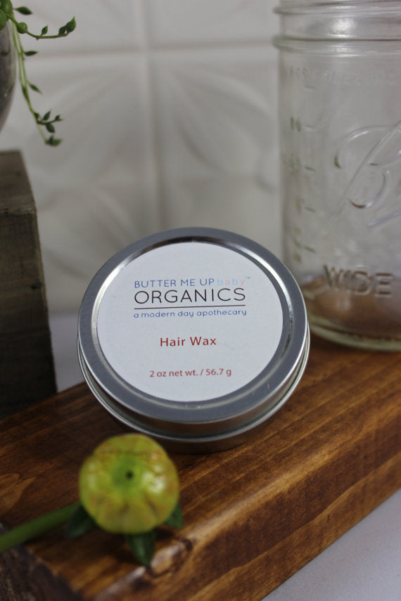 Organic Hair Wax for Babies, Children and Adults - the-cured-company