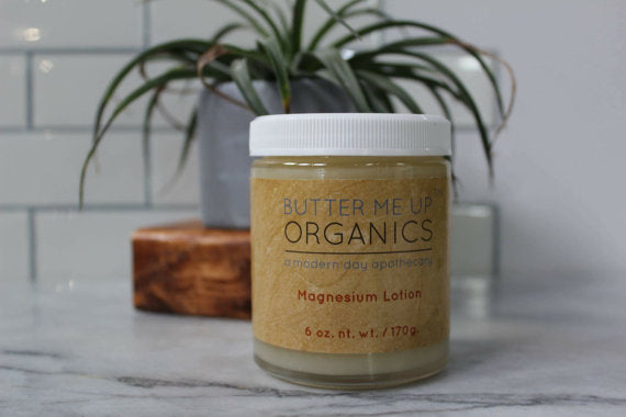 Organic Magnesium Lotion - The Cured Company