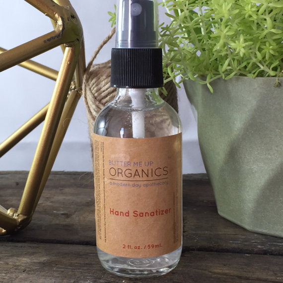 Organic Hand Sanitizer Triclosan Free - The Cured Company