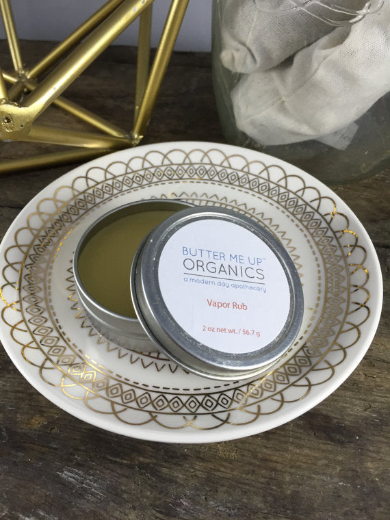 Handmade Organic Vapor Rub - The Cured Company