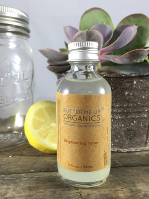 Organic Brightening Toner - The Cured Company