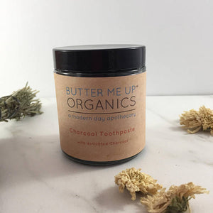 Organic Activated Charcoal Toothpaste - The Cured Company