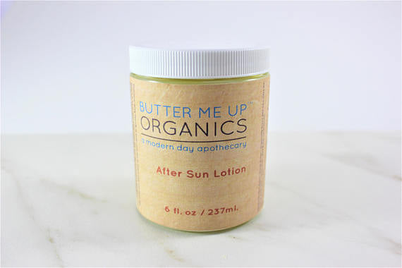 Organic After Sun Lotion - The Cured Company