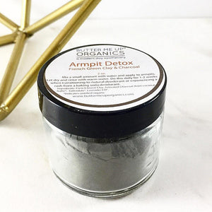 Arm Pit Detox Natural Deodorant - The Cured Company