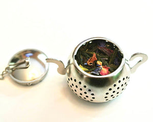 Tea Infuser with Hamsa Hand Charm - The Cured Company