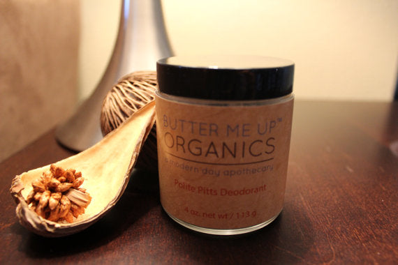 Handmade Organic Deodorant Polite Pitts - the-cured-company
