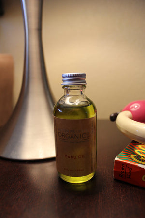 Organic Gentle Baby Oil - the-cured-company
