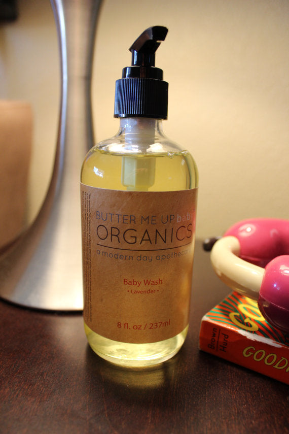 Organic Lavender Baby Wash - the-cured-company