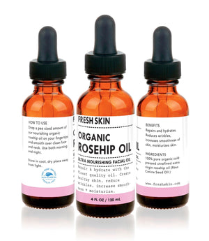 Extra Virgin Rosehip Oil (4 OZ) - The Cured Company