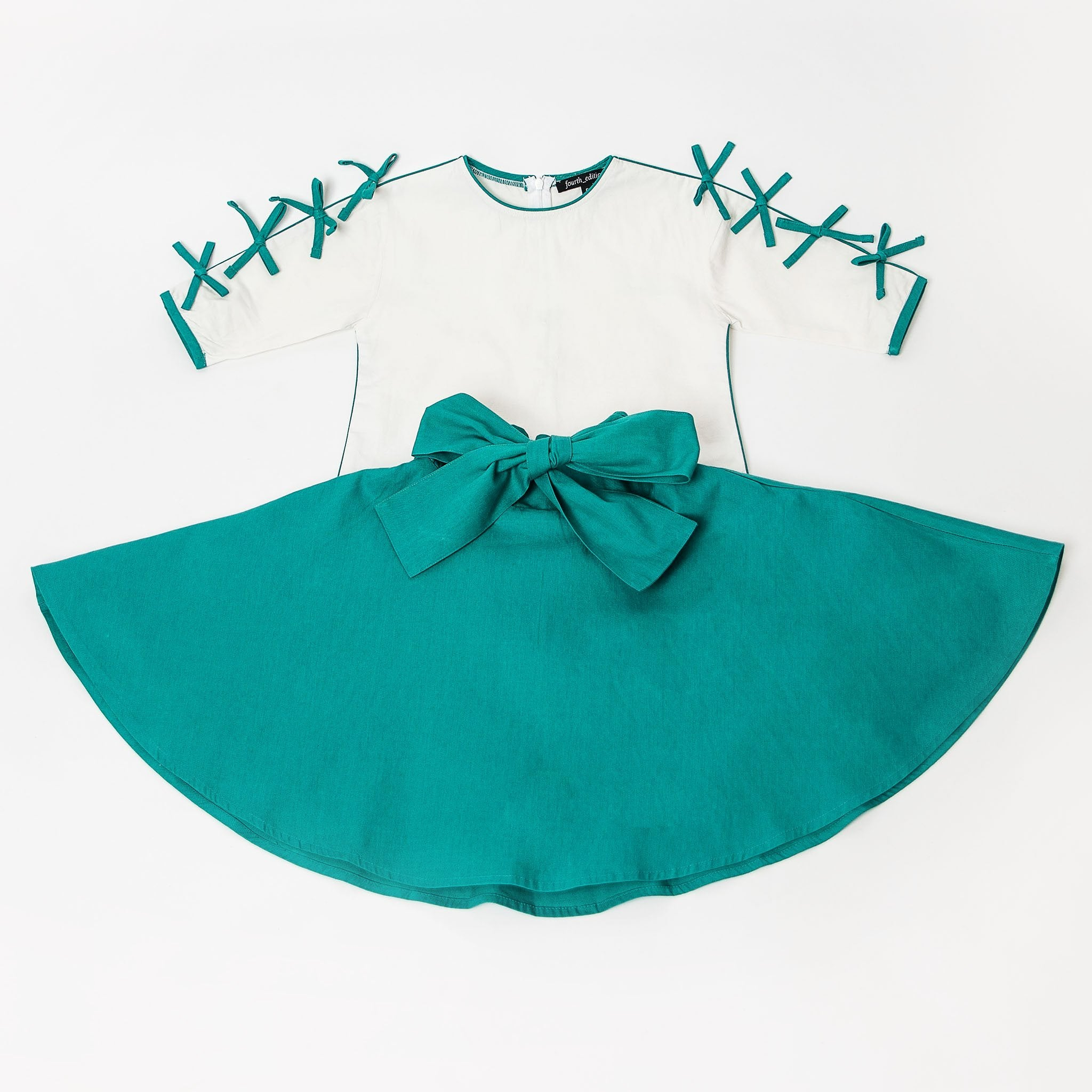 The Bow Outfit, Teal