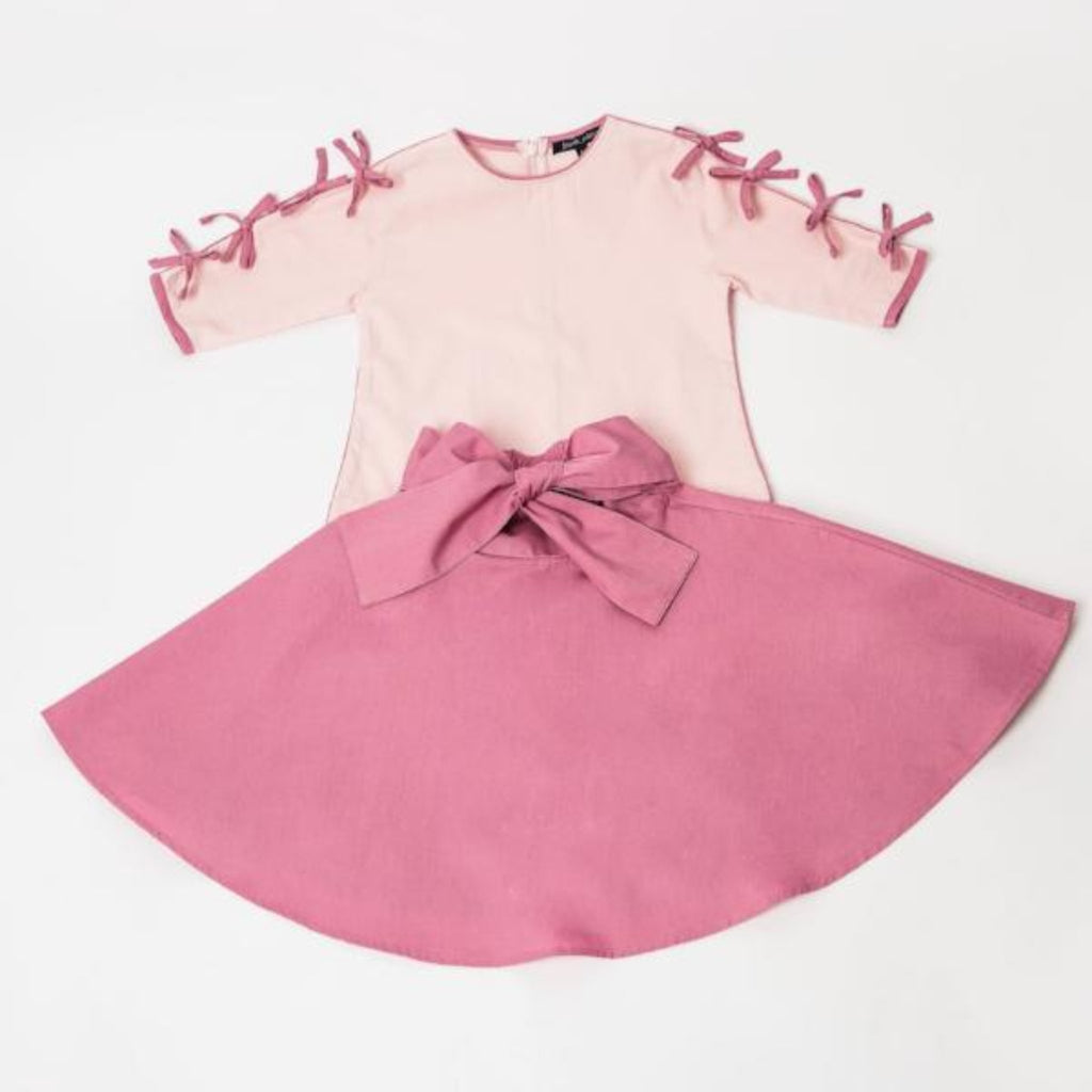 The Bow Outfit, Pink