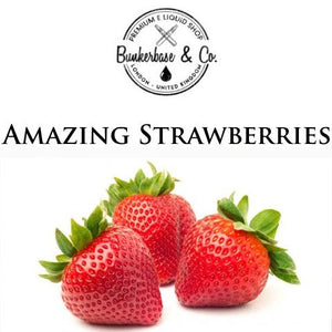 Bunkerbase & Co. - Amazing Strawberries - 10 ml Flavor Concentrate