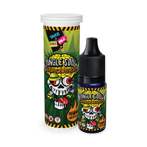Chill Pill - Jungle Soul - Slushy Grapefruit - 10 ml Smaakconcentraat
