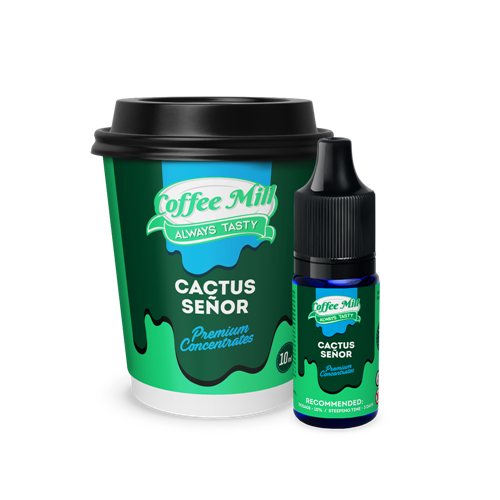 Coffee Mill - Cactus Senor - 10ml Concentrate