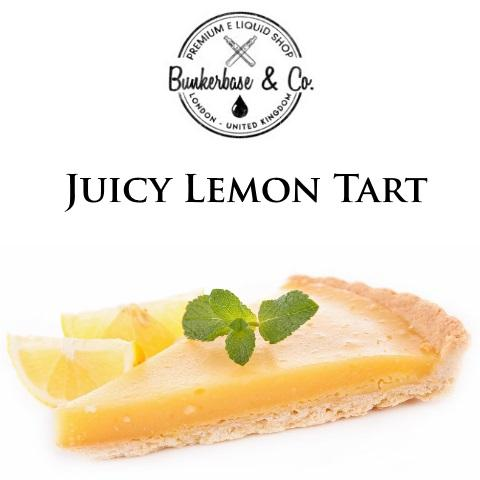 Bunkerbase & Co. - Juicy Lemon Tart - 10 ml Flavor Concentrate