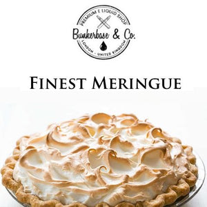 Bunkerbase & Co. - Meringue - 10 ml Flavor Concentrate