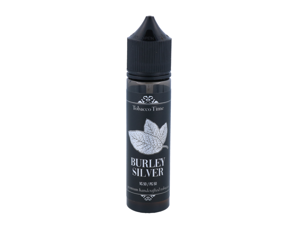 Tobacco Time - Burley Silber 20ml Longfill