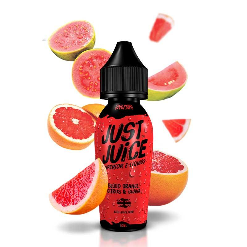 Just Juice - Blood Orange, Citrus and Guava - 50 ml Shortfill