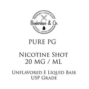 PG Nikotin-skud - 10 x 10 ml / 20 mg