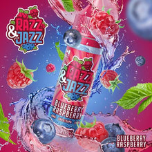 Load image into Gallery viewer, Razz & Jazz – Blueberry Raspberry 50ml Short Fill