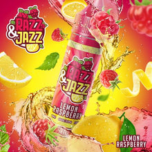 Load image into Gallery viewer, Razz & Jazz – Lemon Raspberry 50ml Short Fill