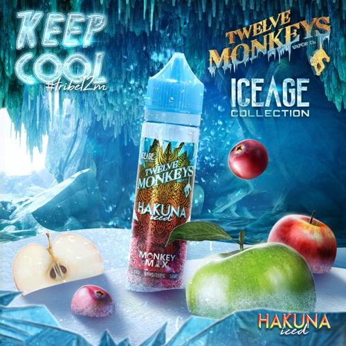 Twelve Monkeys - Ice Age Hakuna 50ml Shake & Vape