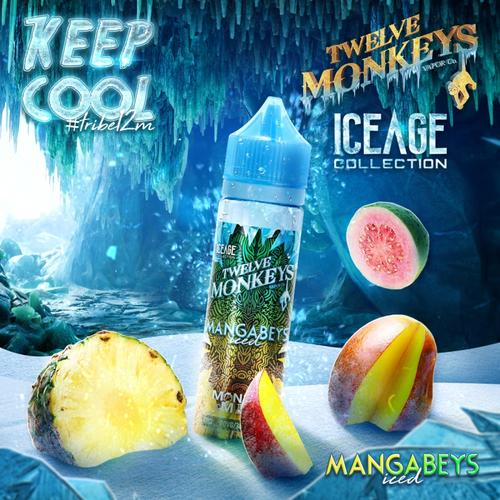 Twelve Monkeys - Ice Age Mangabeys 50 ml Shake & Vape