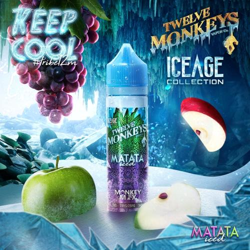 Twelve Monkeys - Ice Age Matata 50ml Shake & vape