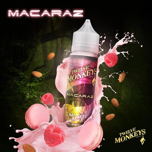 Twelve Monkeys - MacaRaz 50 ml Shortfill