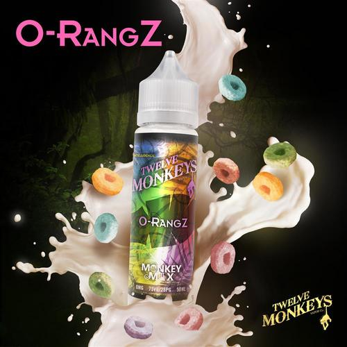 Twelve Monkeys - O RangZ 50 ml Shortfill