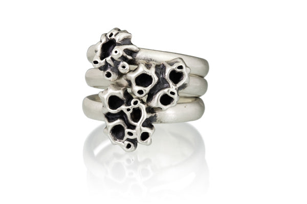 4 Barnacle Cluster Ring