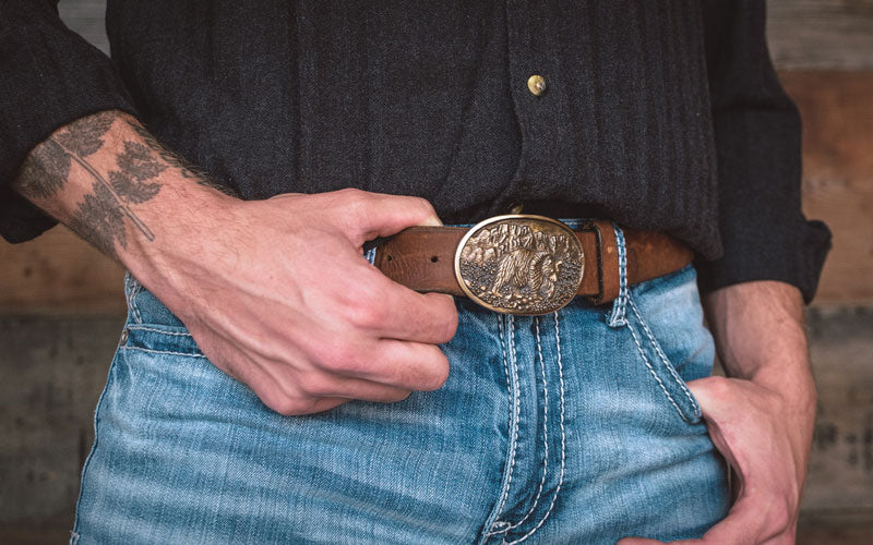 Grizzly Bear Belt Buckle