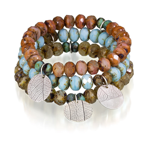 Leaf Stretch Bracelet