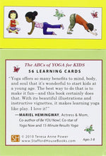 Load image into Gallery viewer, ABCs of Yoga for Kids: 56 Learning Cards